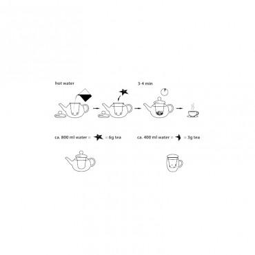 """Creano """"Szív"""" formájú tea"""